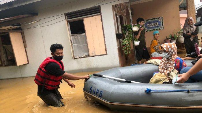 BPBD Lakukan Penanganan Darurat 6 Kecamatan di Kabupaten Hulu Sungai Selatan Terdampak Banjir