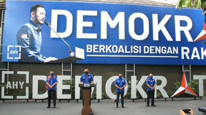 AHY Minta Klarifikasi Dugaan Gerakan Politik Kudeta Partai Demokrat Kirim Surat menuju Jokowi