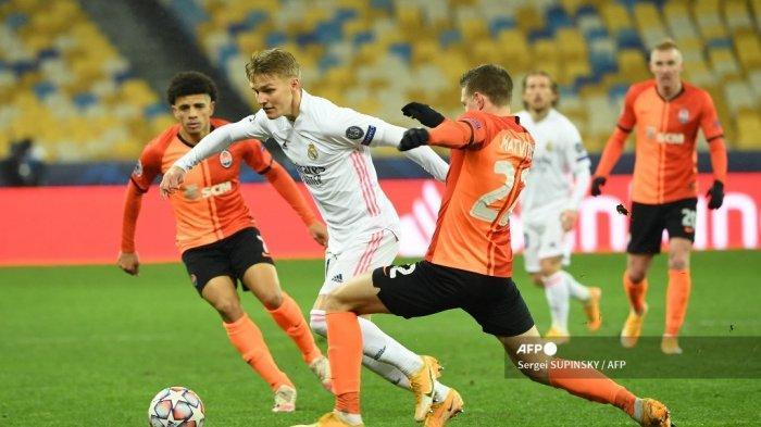 Langsung Beri Nomor Mesut Oezil Arsenal Berterima Kasih menuju Real Madrid Dipinjamkan Martin Odegaard