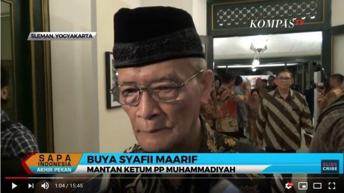Syarat penting Toleransi wajib Berlapang Dada Menghargai Perbedaan Buya Syafii Maarif