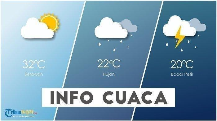 Waspada Cuaca Ekstrem di 29 Wilayah BMKG Peringatan Dini Cuaca Hari Ini Selasa 16 Februari 2021